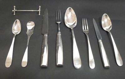 Biedermeier-Silver Cutlery