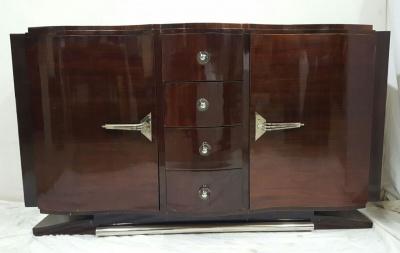 art d co anrichte frankreich 1930er 1940er m bel tony subal kunsthandel. Black Bedroom Furniture Sets. Home Design Ideas