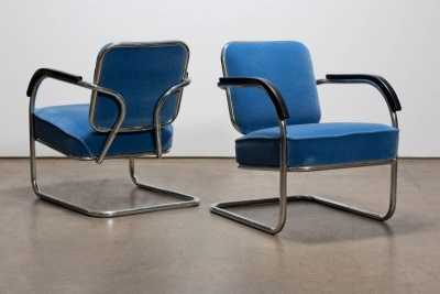 Pair of Cantilever Chairs