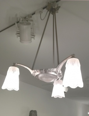 Three Arm Chandelier
