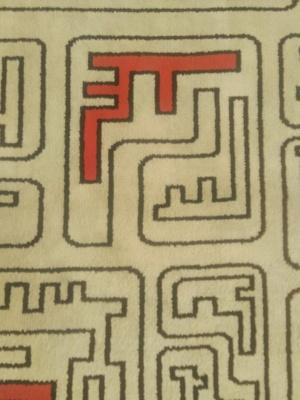 """Teppich """"1950er Design"""""""