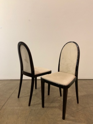 12 Dining Chairs (unrestorec)