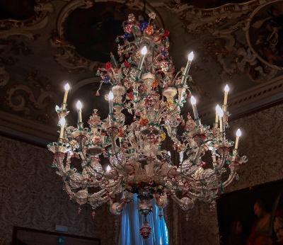 Magnificent Ca' Rezzonico Murano Chandelier