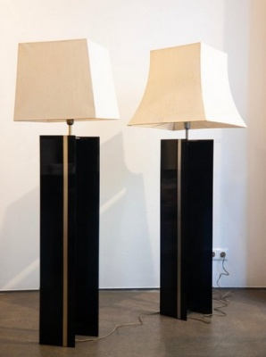 Pair of Art Déco Floor Lamps