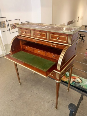 Cylinder Bureau Writing Desk