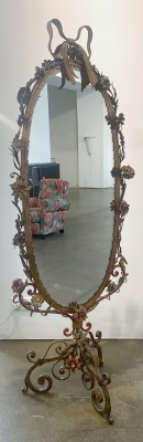 Neo-baroque dressing mirror