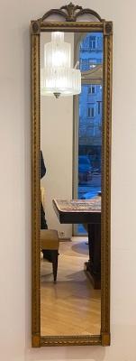 Klassizistischer Wand-/Ankleidespiegel