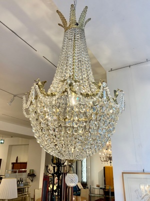 J. & L. Lobmeyr chandelier