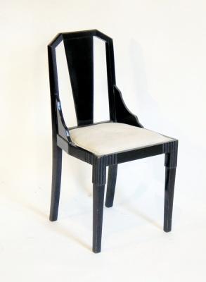 2 art d co st hle m bel tony subal kunsthandel. Black Bedroom Furniture Sets. Home Design Ideas