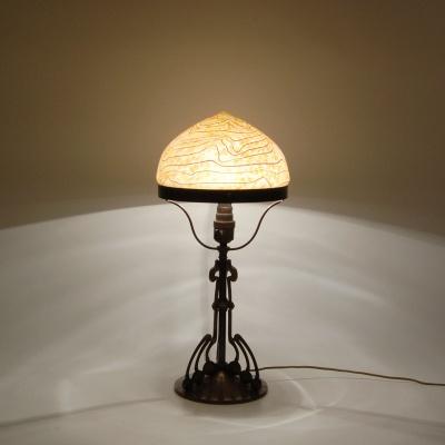 table lamp design gustav gurschner glass shade l tz c. Black Bedroom Furniture Sets. Home Design Ideas