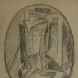 kubistische Komposition