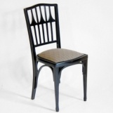A Set of 4 Jugendstil Chairs