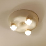 "A Set of 3 Ceiling Lights ""T 2570"""