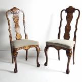 Zwei neobarocke Stühle